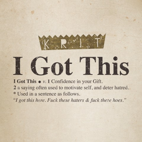 Big K.R.I.T. – I Got This Lyrics